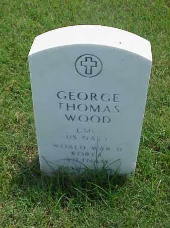 WOOD (VETERAN 3 WARS), GEORGE THOMAS - Pulaski County, Arkansas | GEORGE THOMAS WOOD (VETERAN 3 WARS) - Arkansas Gravestone Photos