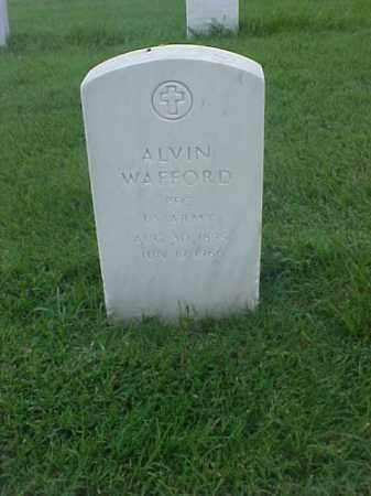 WAFFORD (VETERAN), ALVIN - Pulaski County, Arkansas | ALVIN WAFFORD (VETERAN) - Arkansas Gravestone Photos