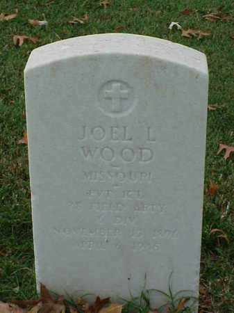 WOOD (VETERAN WWI), JOEL L - Pulaski County, Arkansas | JOEL L WOOD (VETERAN WWI) - Arkansas Gravestone Photos