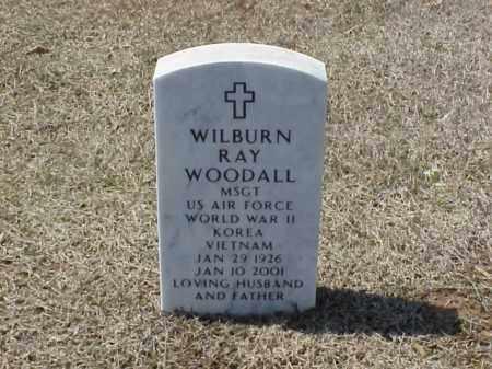 WOODALL (VETERAN 3 WARS), WILBURN RAY - Pulaski County, Arkansas | WILBURN RAY WOODALL (VETERAN 3 WARS) - Arkansas Gravestone Photos