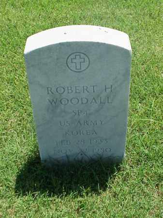 WOODALL (VETERAN KOR), ROBERT H - Pulaski County, Arkansas | ROBERT H WOODALL (VETERAN KOR) - Arkansas Gravestone Photos