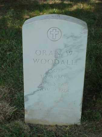 WOODALL (VETERAN WWII), ORAN W - Pulaski County, Arkansas | ORAN W WOODALL (VETERAN WWII) - Arkansas Gravestone Photos
