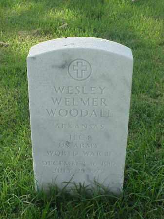 WOODALL (VETERAN WWII), WESLEY WELMER - Pulaski County, Arkansas | WESLEY WELMER WOODALL (VETERAN WWII) - Arkansas Gravestone Photos
