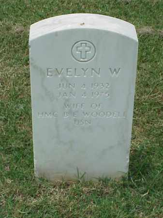 WOODELL, EVELYN W - Pulaski County, Arkansas | EVELYN W WOODELL - Arkansas Gravestone Photos