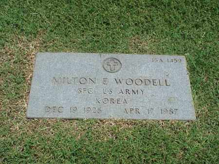 WOODELL (VETERAN KOR), MILTON E - Pulaski County, Arkansas | MILTON E WOODELL (VETERAN KOR) - Arkansas Gravestone Photos