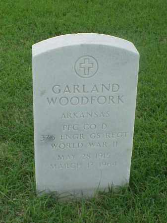 WOODFORD (VETERAN WWII), GARLAND - Pulaski County, Arkansas | GARLAND WOODFORD (VETERAN WWII) - Arkansas Gravestone Photos