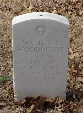 WOODHOUSE (VETERAN WWI), WALTER F - Pulaski County, Arkansas | WALTER F WOODHOUSE (VETERAN WWI) - Arkansas Gravestone Photos