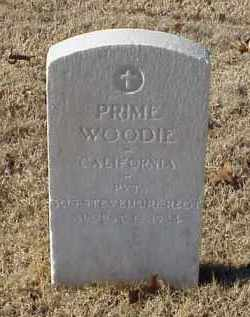 WOODIE (VETERAN WWI), PRIME - Pulaski County, Arkansas | PRIME WOODIE (VETERAN WWI) - Arkansas Gravestone Photos