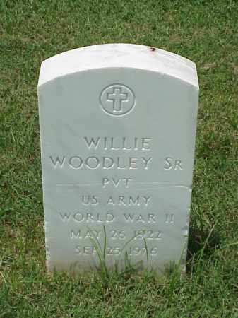 WOODLEY, SR (VETERAN WWII), WILLIE - Pulaski County, Arkansas | WILLIE WOODLEY, SR (VETERAN WWII) - Arkansas Gravestone Photos