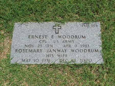 WOODRUM (VETERAN KOR), ERNEST E - Pulaski County, Arkansas | ERNEST E WOODRUM (VETERAN KOR) - Arkansas Gravestone Photos