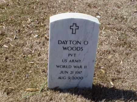 WOODS  (VETERAN WWII), DAYTON O - Pulaski County, Arkansas | DAYTON O WOODS  (VETERAN WWII) - Arkansas Gravestone Photos