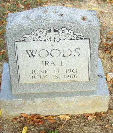 WOODS, IRA L. - Pulaski County, Arkansas | IRA L. WOODS - Arkansas Gravestone Photos