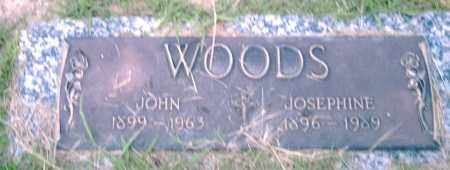 WOODS, JOHN - Pulaski County, Arkansas | JOHN WOODS - Arkansas Gravestone Photos
