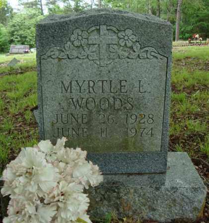 WOODS, MYRTLE L. - Pulaski County, Arkansas | MYRTLE L. WOODS - Arkansas Gravestone Photos