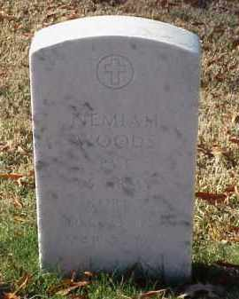 WOODS (VETERAN KOR), NEMIAH - Pulaski County, Arkansas | NEMIAH WOODS (VETERAN KOR) - Arkansas Gravestone Photos