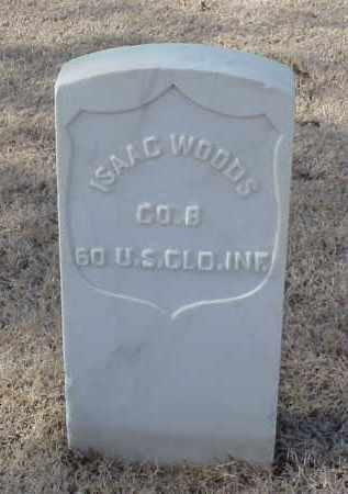 WOODS (VETERAN UNION), ISAAC - Pulaski County, Arkansas | ISAAC WOODS (VETERAN UNION) - Arkansas Gravestone Photos
