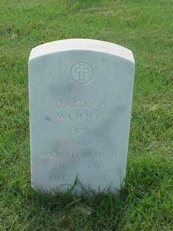 WOODS (VETERAN WWII), JACK B - Pulaski County, Arkansas | JACK B WOODS (VETERAN WWII) - Arkansas Gravestone Photos