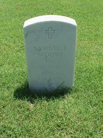 WOODS (VETERAN WWII), SAMUEL E - Pulaski County, Arkansas | SAMUEL E WOODS (VETERAN WWII) - Arkansas Gravestone Photos