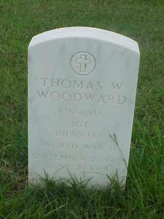 WOODWARD (VETERAN WWII), THOMAS W - Pulaski County, Arkansas | THOMAS W WOODWARD (VETERAN WWII) - Arkansas Gravestone Photos