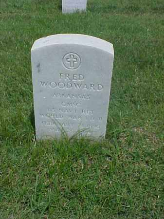 WOODWARD (VETERAN 2 WARS), FRED - Pulaski County, Arkansas | FRED WOODWARD (VETERAN 2 WARS) - Arkansas Gravestone Photos