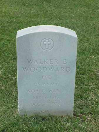 WOODWARD (VETERAN WWII), WALKER B - Pulaski County, Arkansas | WALKER B WOODWARD (VETERAN WWII) - Arkansas Gravestone Photos
