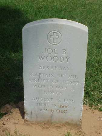 WOODY (VETERAN 2 WARS), JOE B - Pulaski County, Arkansas | JOE B WOODY (VETERAN 2 WARS) - Arkansas Gravestone Photos