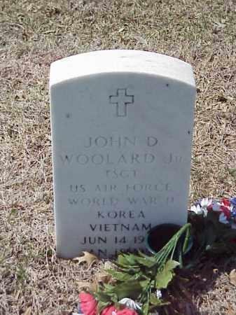 WOOLARD, JR (VETERAN 3 WARS), JOHN D - Pulaski County, Arkansas | JOHN D WOOLARD, JR (VETERAN 3 WARS) - Arkansas Gravestone Photos