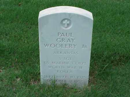 WOOLERY, JR (VETERAN 2 WARS), PAUL GRAY - Pulaski County, Arkansas | PAUL GRAY WOOLERY, JR (VETERAN 2 WARS) - Arkansas Gravestone Photos