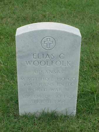 WOOLFOLK (VETERAN WWII), ELIAS C - Pulaski County, Arkansas | ELIAS C WOOLFOLK (VETERAN WWII) - Arkansas Gravestone Photos