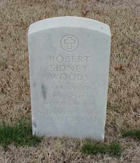 WOODS  (VETERAN WWII), ROBERT SIDNEY - Pulaski County, Arkansas | ROBERT SIDNEY WOODS  (VETERAN WWII) - Arkansas Gravestone Photos