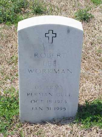 WORKMAN (VETERAN PGW), ROBERT LEE - Pulaski County, Arkansas | ROBERT LEE WORKMAN (VETERAN PGW) - Arkansas Gravestone Photos