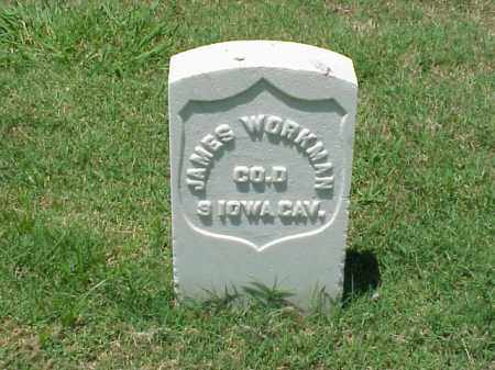WORKMAN (VETERAN UNION), JAMES - Pulaski County, Arkansas | JAMES WORKMAN (VETERAN UNION) - Arkansas Gravestone Photos