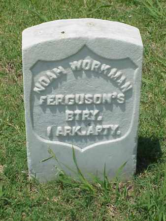 WORKMAN (VETERAN UNION), NOAH - Pulaski County, Arkansas | NOAH WORKMAN (VETERAN UNION) - Arkansas Gravestone Photos