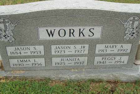 WORKS, PEGGY J. - Pulaski County, Arkansas | PEGGY J. WORKS - Arkansas Gravestone Photos