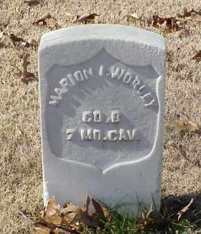 WORLEY (VETERAN UNION), MARION I - Pulaski County, Arkansas | MARION I WORLEY (VETERAN UNION) - Arkansas Gravestone Photos