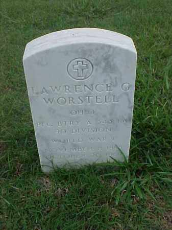 WORSTELL (VETERAN WWI), LAWRENCE O - Pulaski County, Arkansas | LAWRENCE O WORSTELL (VETERAN WWI) - Arkansas Gravestone Photos