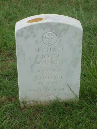 WOZNEY (VETERAN  2 WARS), MICHAEL JOHN - Pulaski County, Arkansas | MICHAEL JOHN WOZNEY (VETERAN  2 WARS) - Arkansas Gravestone Photos