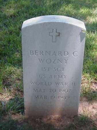 WOZNY (VETERAN WWII), BERNARD C - Pulaski County, Arkansas | BERNARD C WOZNY (VETERAN WWII) - Arkansas Gravestone Photos