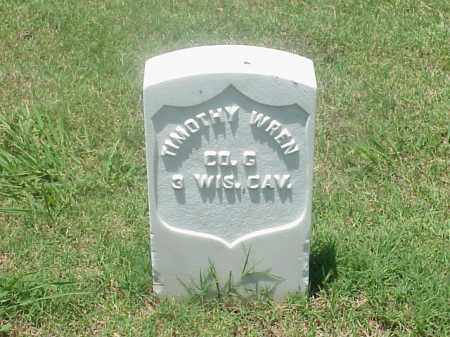 WREN (VETERAN UNION), TIMOTHY - Pulaski County, Arkansas | TIMOTHY WREN (VETERAN UNION) - Arkansas Gravestone Photos