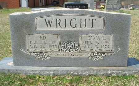 WRIGHT, EDGAR - Pulaski County, Arkansas | EDGAR WRIGHT - Arkansas Gravestone Photos