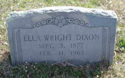 WRIGHT, ELLA - Pulaski County, Arkansas | ELLA WRIGHT - Arkansas Gravestone Photos