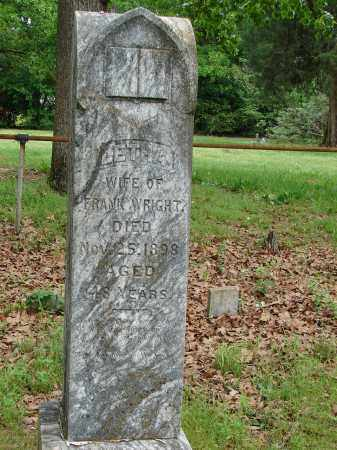 WRIGHT, LETHA - Pulaski County, Arkansas | LETHA WRIGHT - Arkansas Gravestone Photos