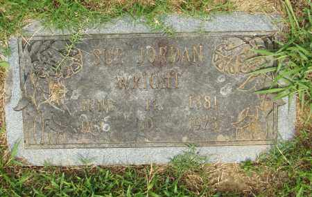 JORDAN WRIGHT, SUE - Pulaski County, Arkansas | SUE JORDAN WRIGHT - Arkansas Gravestone Photos