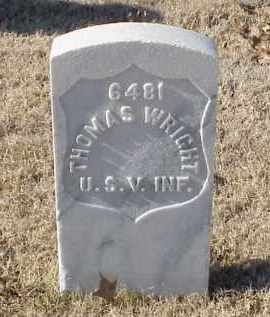 WRIGHT (VETERAN SAW), THOMAS - Pulaski County, Arkansas | THOMAS WRIGHT (VETERAN SAW) - Arkansas Gravestone Photos