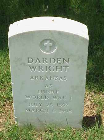 WRIGHT (VETERAN WWI), DARDEN I - Pulaski County, Arkansas | DARDEN I WRIGHT (VETERAN WWI) - Arkansas Gravestone Photos