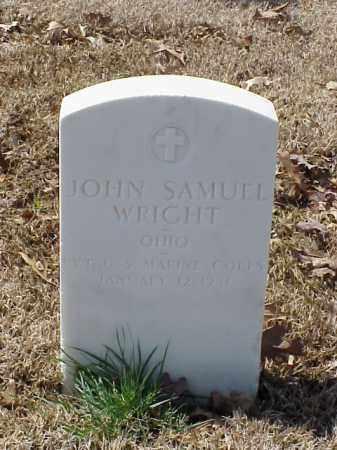 WRIGHT (VETERAN WWI), JOHN SAMUEL - Pulaski County, Arkansas | JOHN SAMUEL WRIGHT (VETERAN WWI) - Arkansas Gravestone Photos