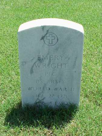 WRIGHT (VETERAN WWII), EMERY - Pulaski County, Arkansas | EMERY WRIGHT (VETERAN WWII) - Arkansas Gravestone Photos