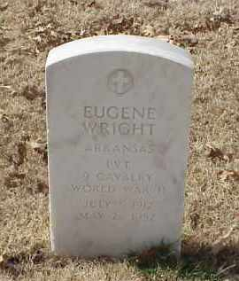 WRIGHT (VETERAN WWII), EUGENE - Pulaski County, Arkansas | EUGENE WRIGHT (VETERAN WWII) - Arkansas Gravestone Photos
