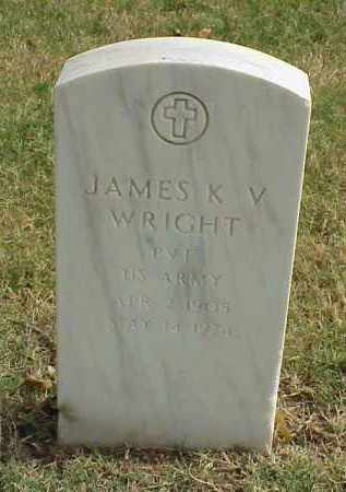 WRIGHT (VETERAN WWII), JAMES K V - Pulaski County, Arkansas | JAMES K V WRIGHT (VETERAN WWII) - Arkansas Gravestone Photos