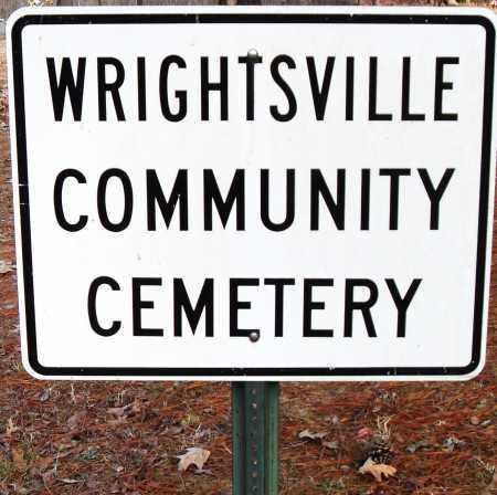 *WRIGHTSVILLE COMMUNITY CEMETE,  - Pulaski County, Arkansas |  *WRIGHTSVILLE COMMUNITY CEMETE - Arkansas Gravestone Photos
